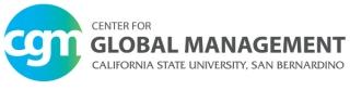Center for Global Management at California State University, San Bernardino logo