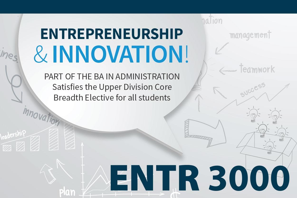 ENTR 3000 Course - Entrepreneurship & Innovation!